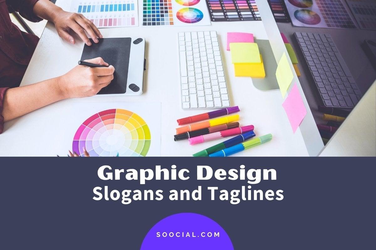 graphic design slogans
