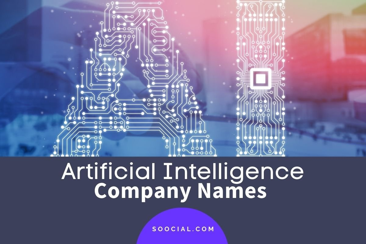 Artificial Intelligence Company Names