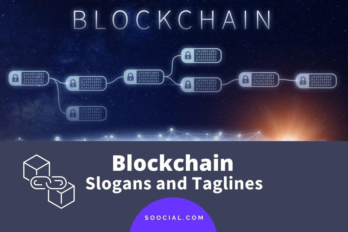 Blockchain Slogans