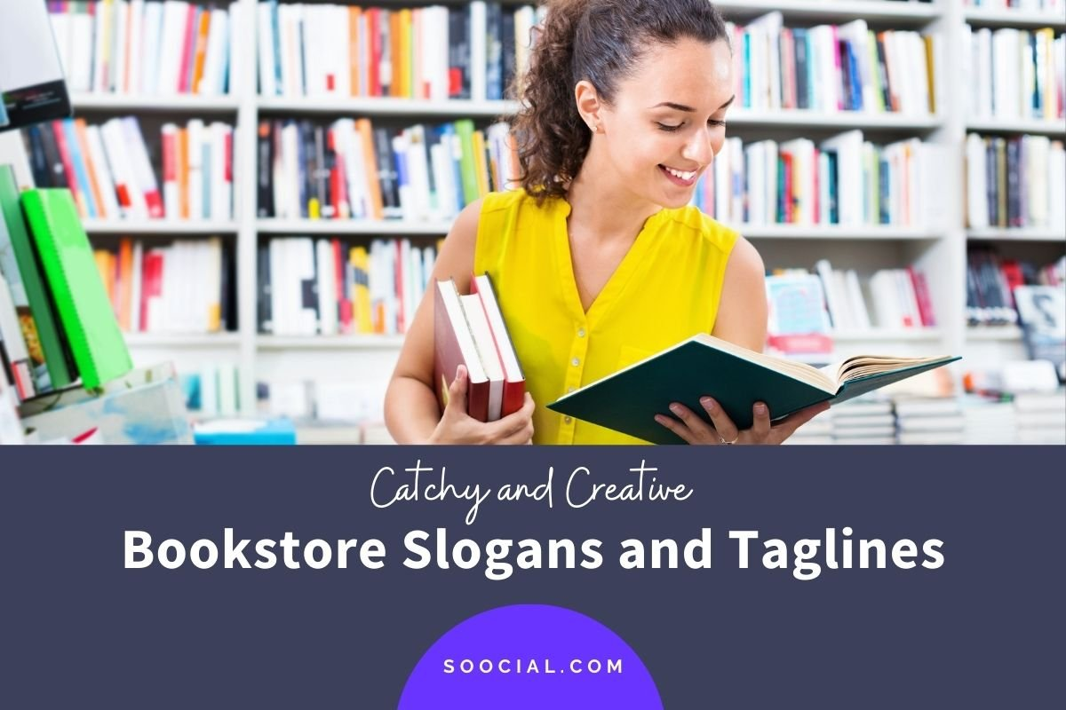 Bookstore Slogans and Taglines