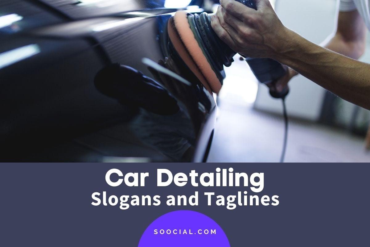 Car Detailing Slogans
