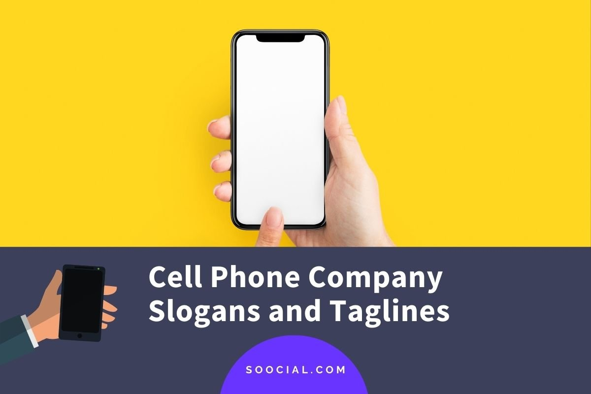 Cell Phone Company Slogans and Taglines