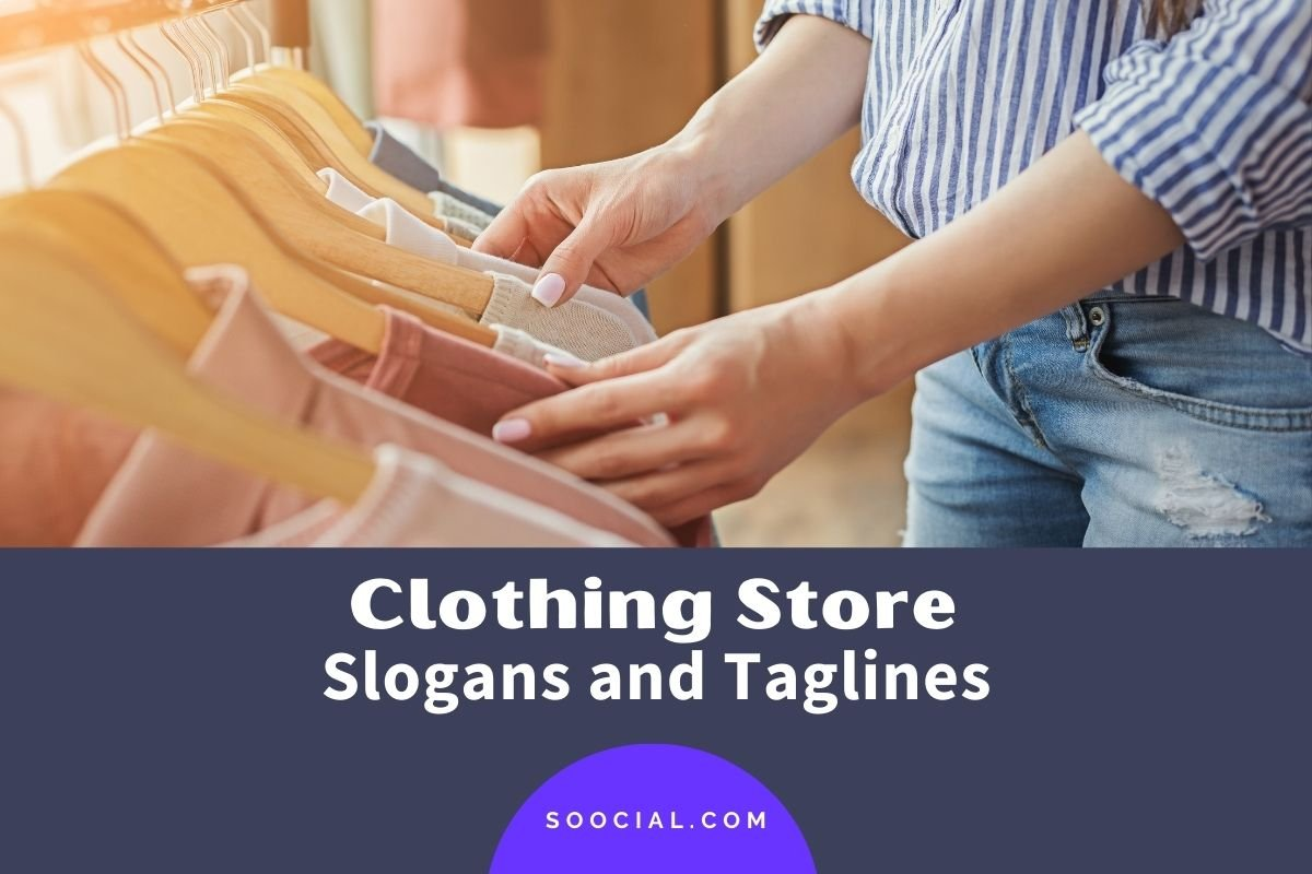 Clothing Store Slogans and Taglines