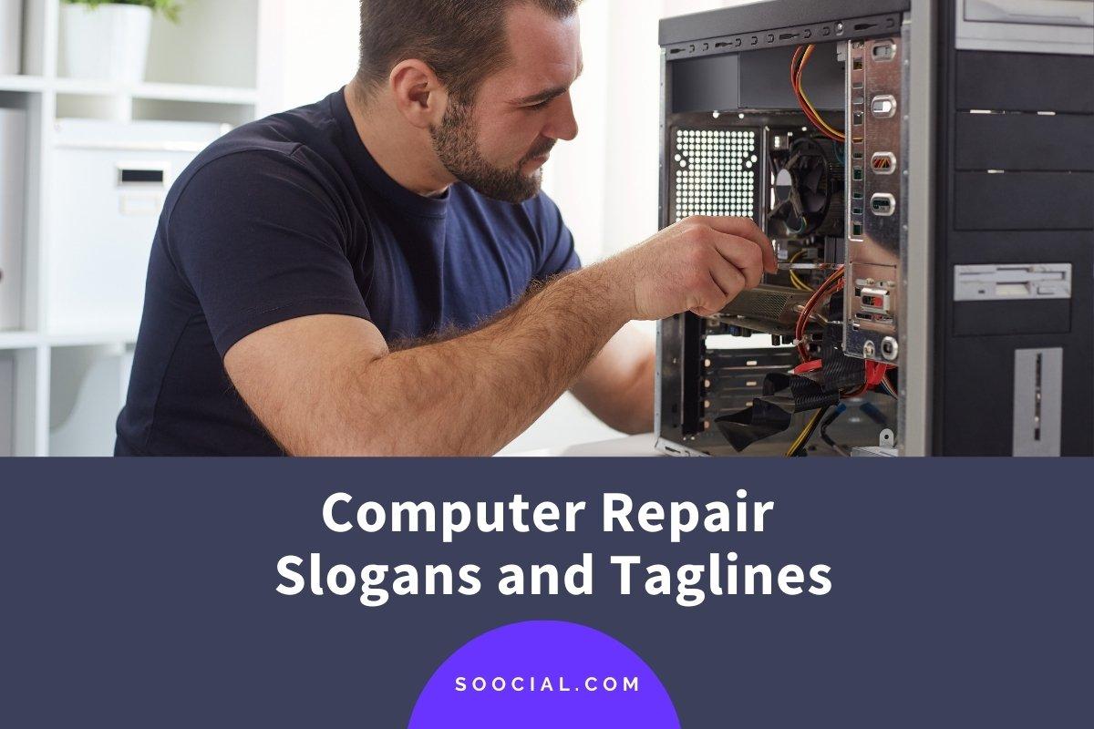 Computer Repair Slogans