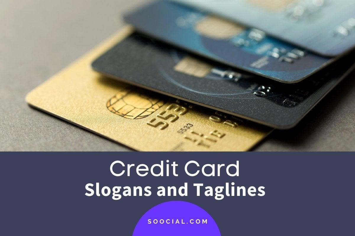 Credit Card Slogans