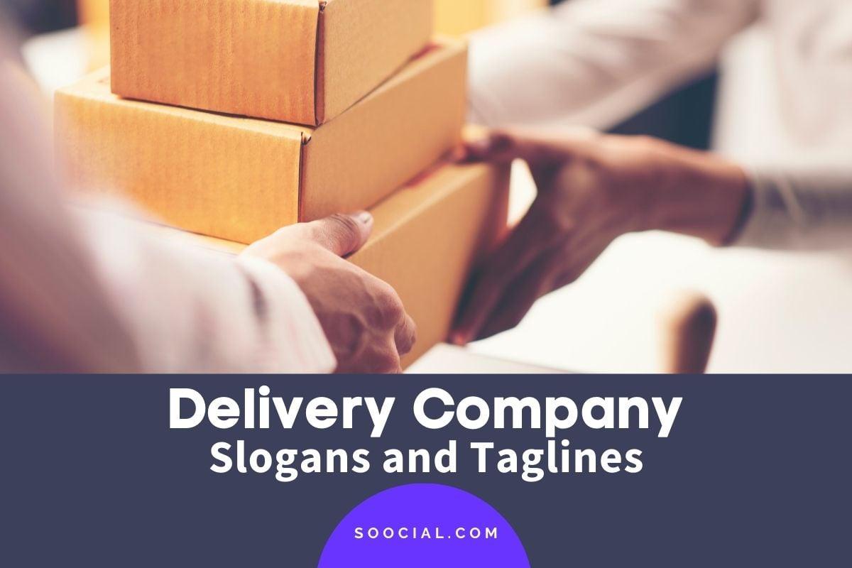 Delivery Slogans