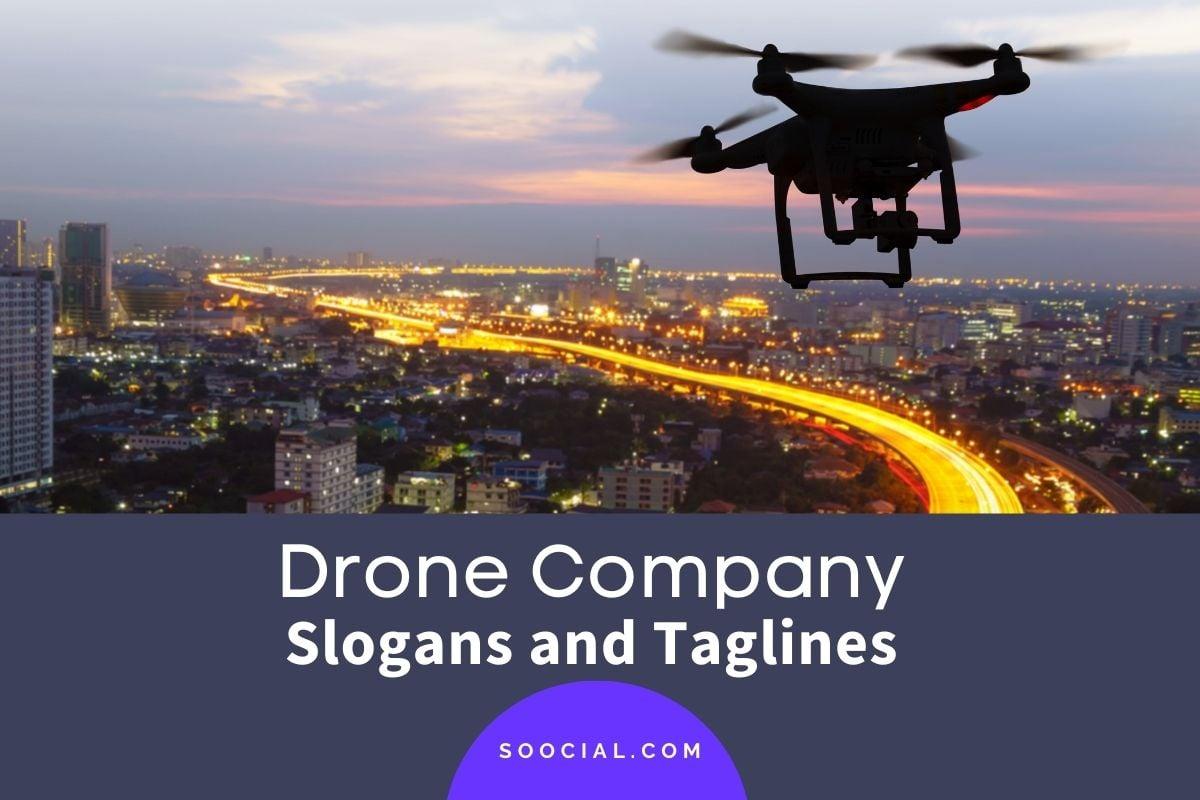 Drone Slogans