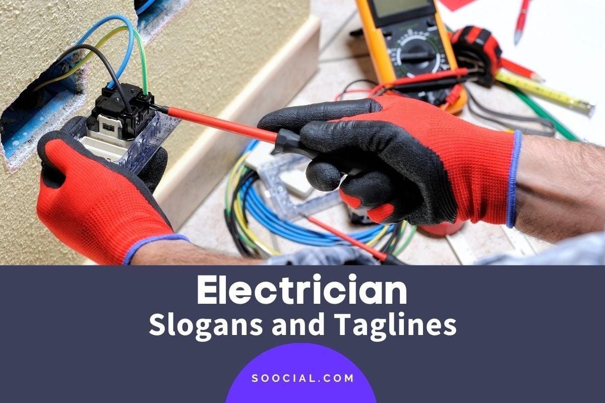 Electrician Slogans