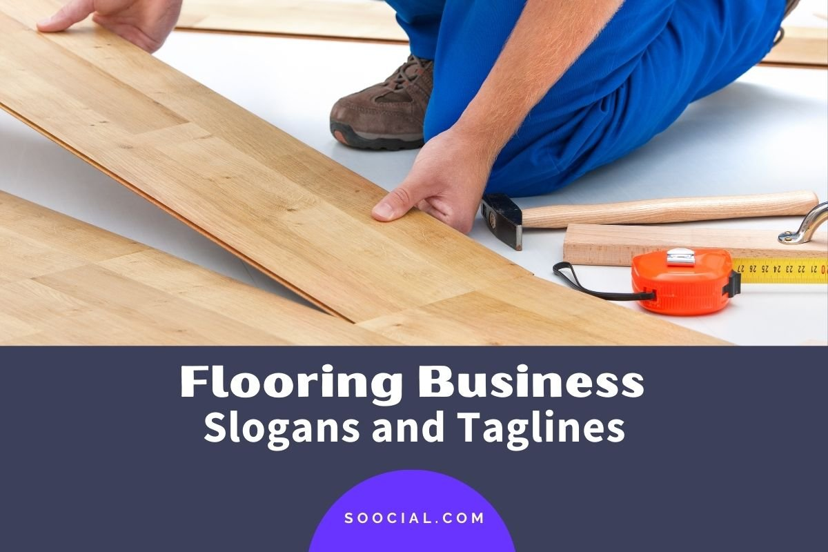 Flooring Business Slogans