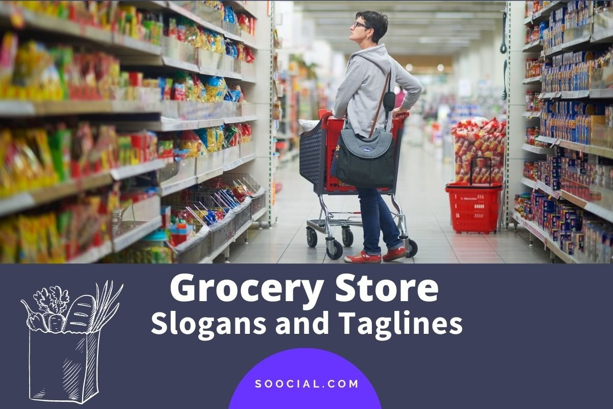 Grocery Store Slogans