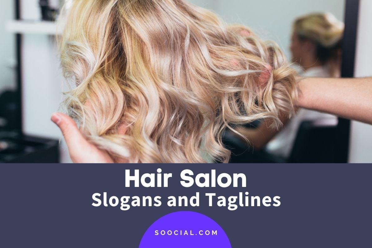 Hair Salon Slogans