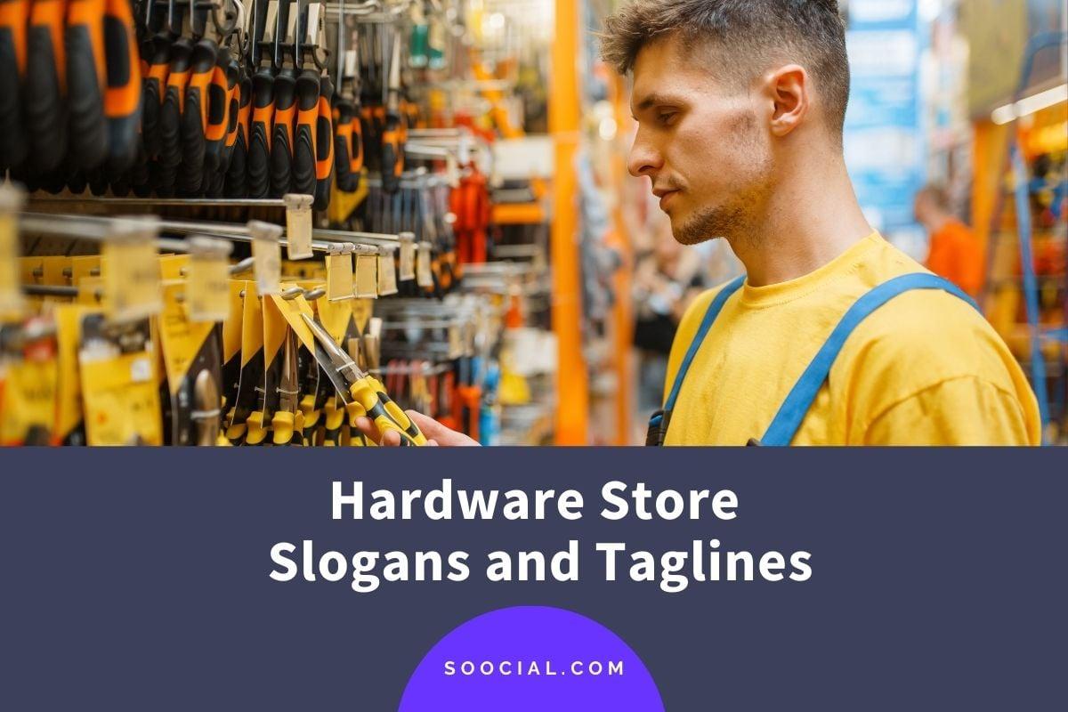 Hardware Store Slogans