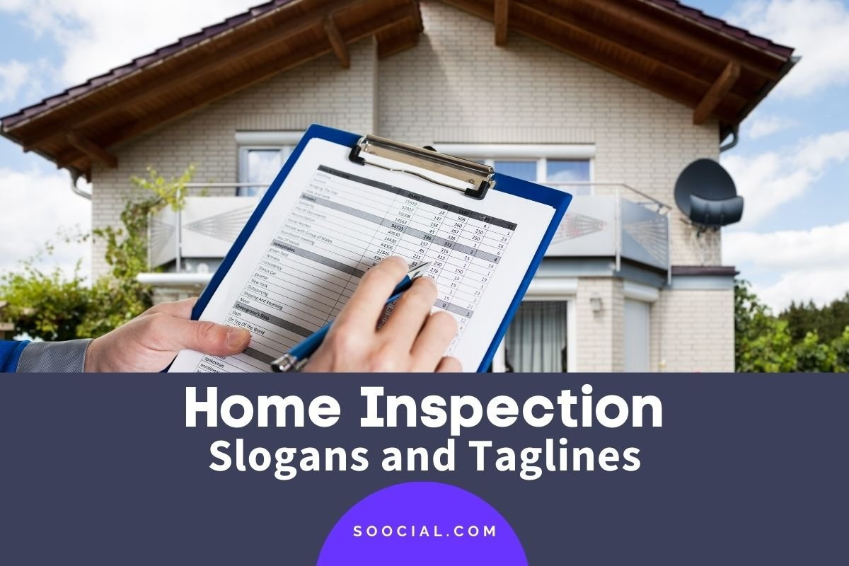 Home Inspection Slogans