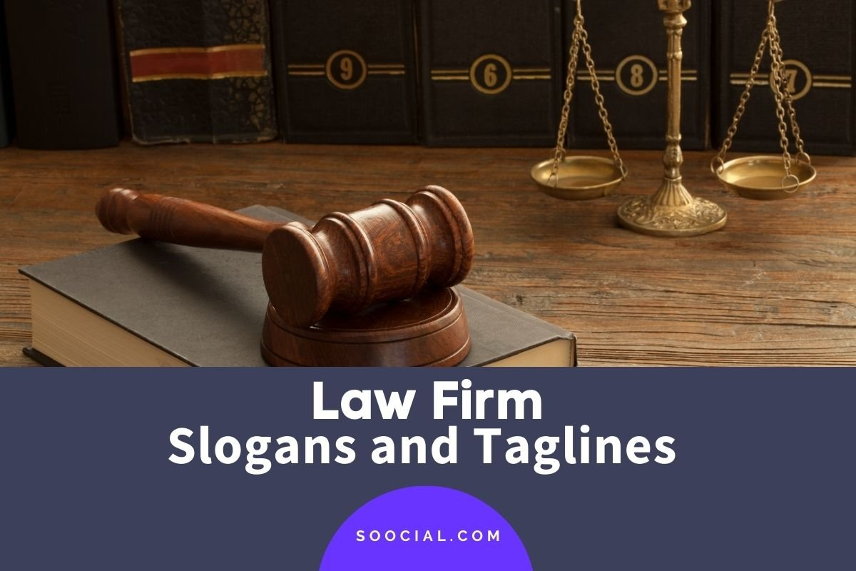 Law Firm Slogans and Taglines