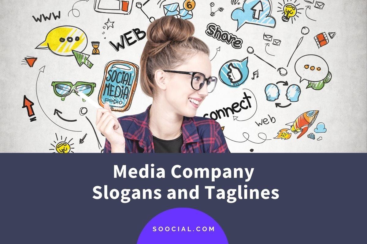 Media Company Slogans and Taglines