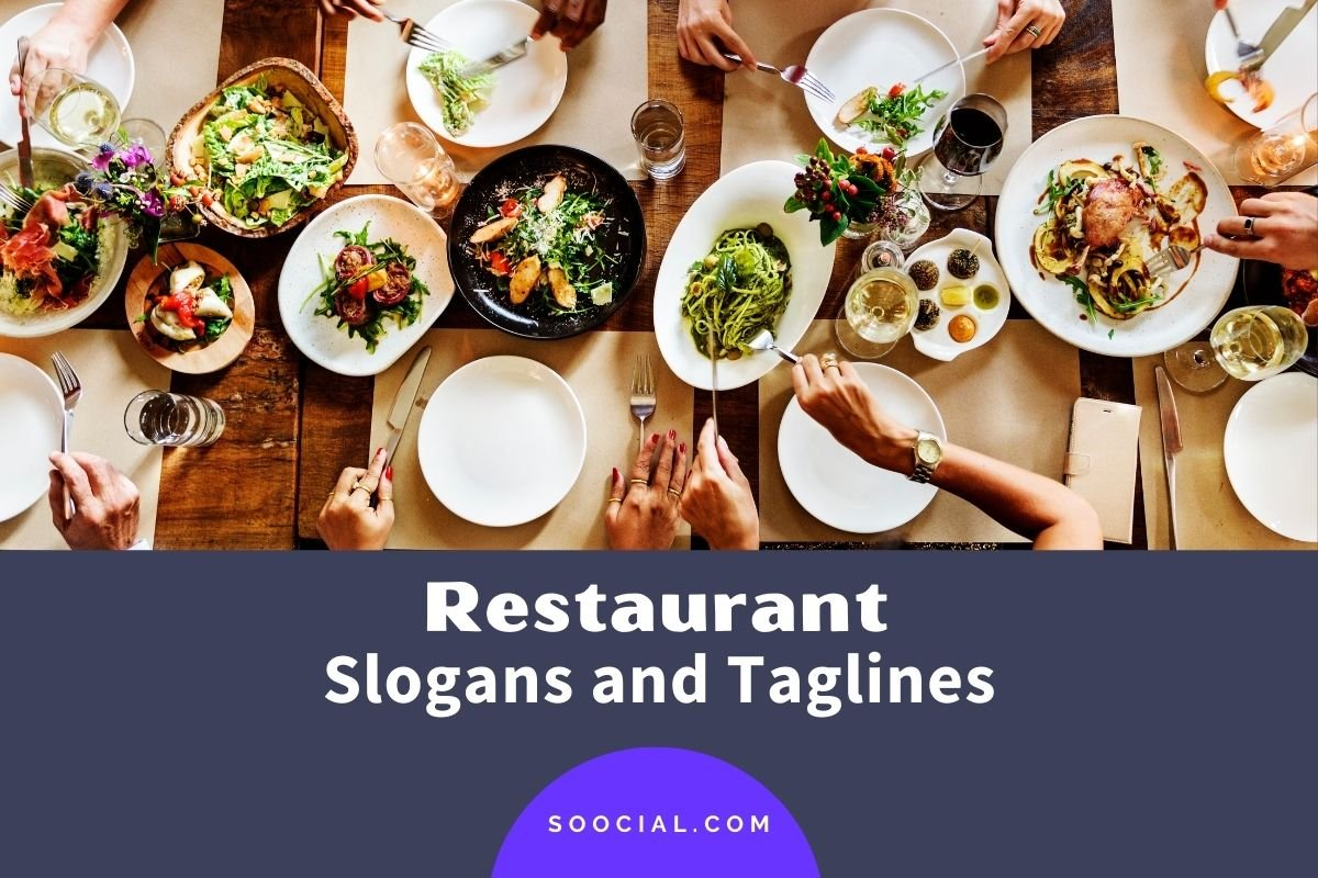 Restaurant Slogans and Taglines
