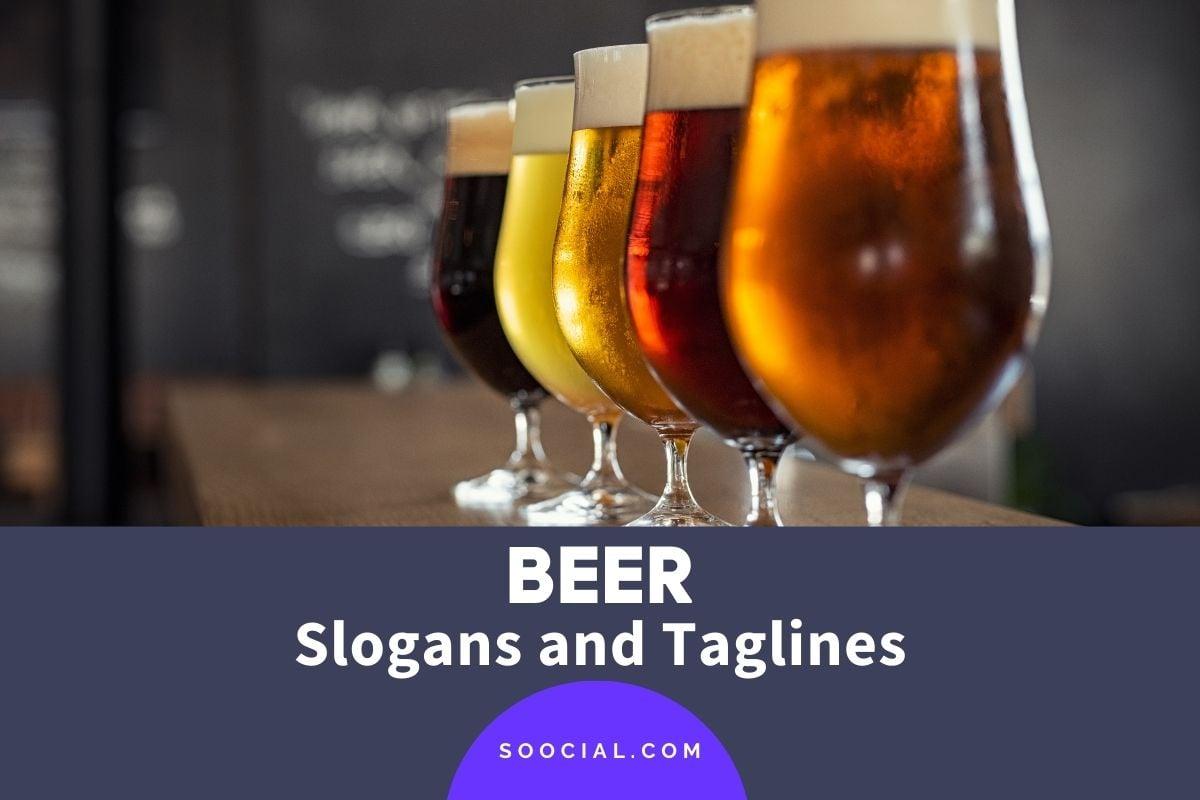 beer slogans