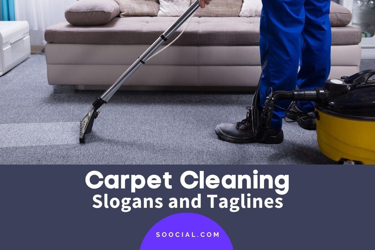 carpet cleaning slogans