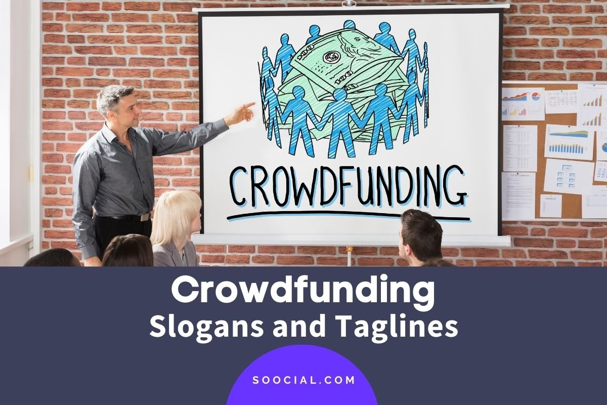 crowdfunding slogans