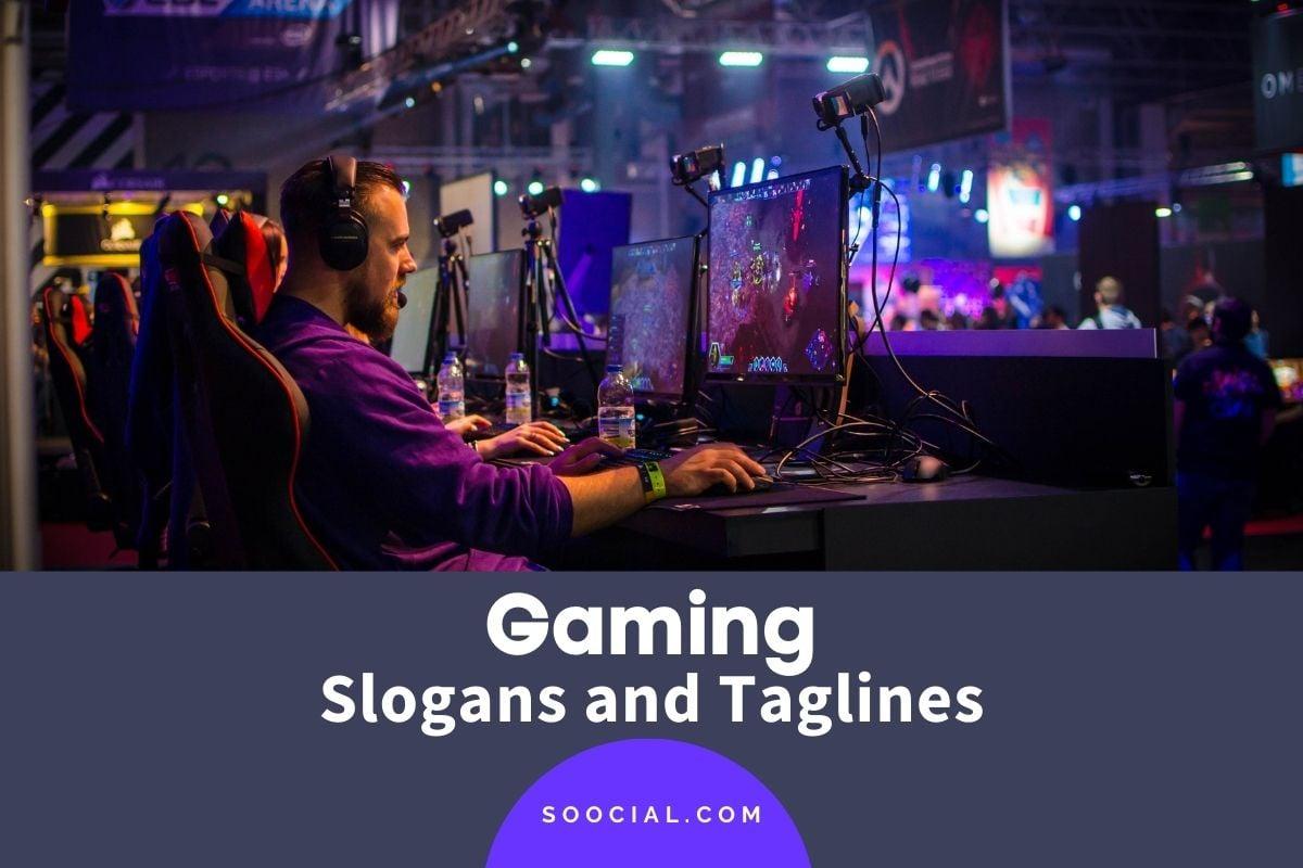 gaming slogans