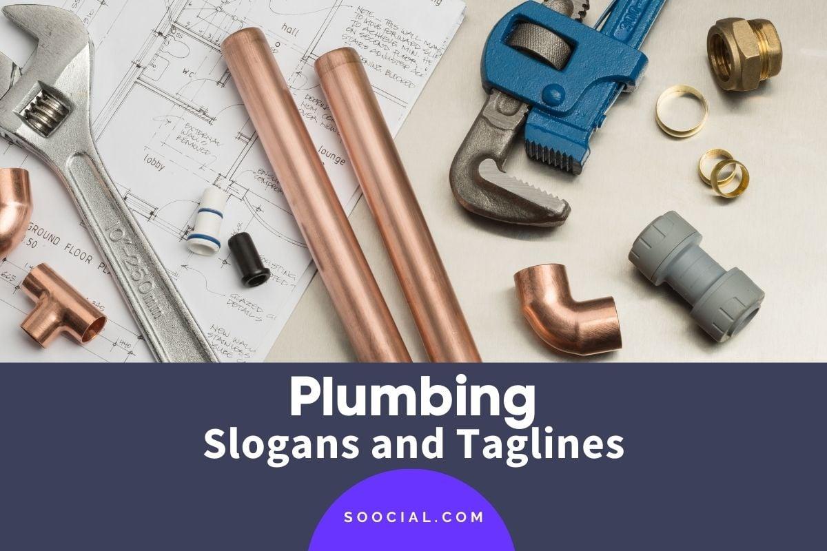 plumbing slogans