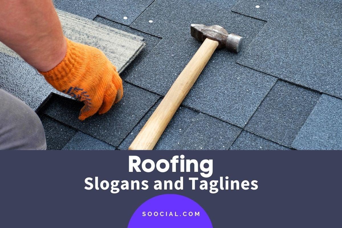 roofing slogans