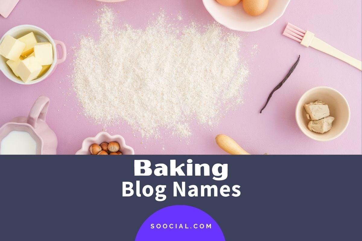Baking Blog Names
