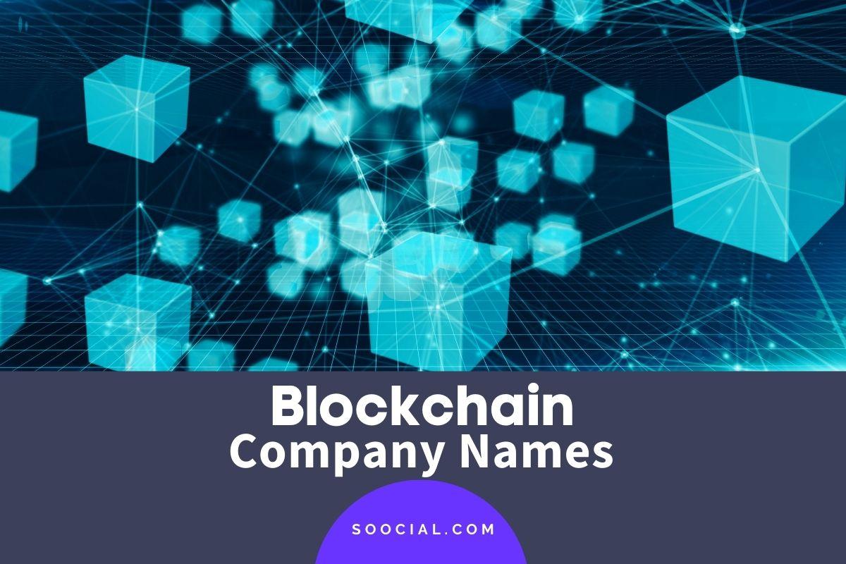 Blockchain Company Names