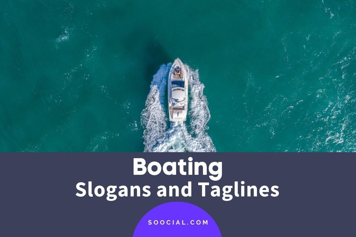 Boating Slogans