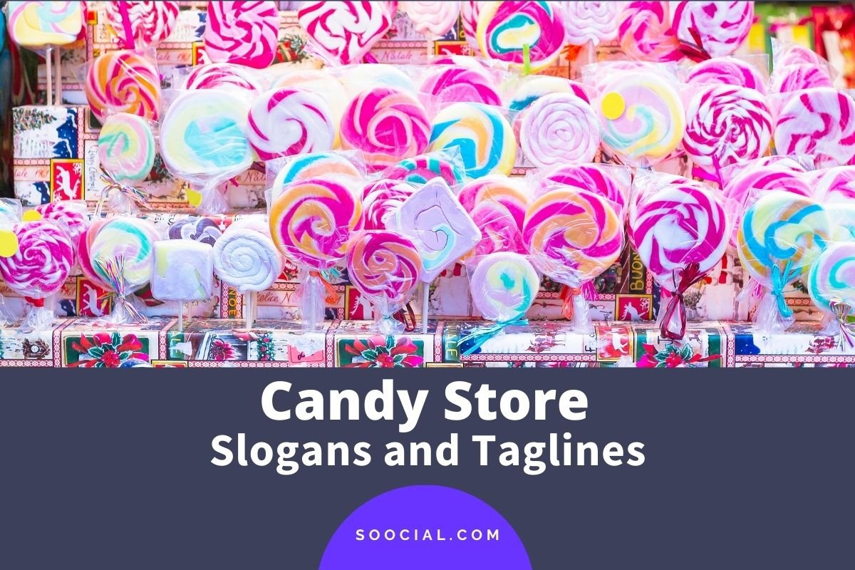 Candy Store Slogans