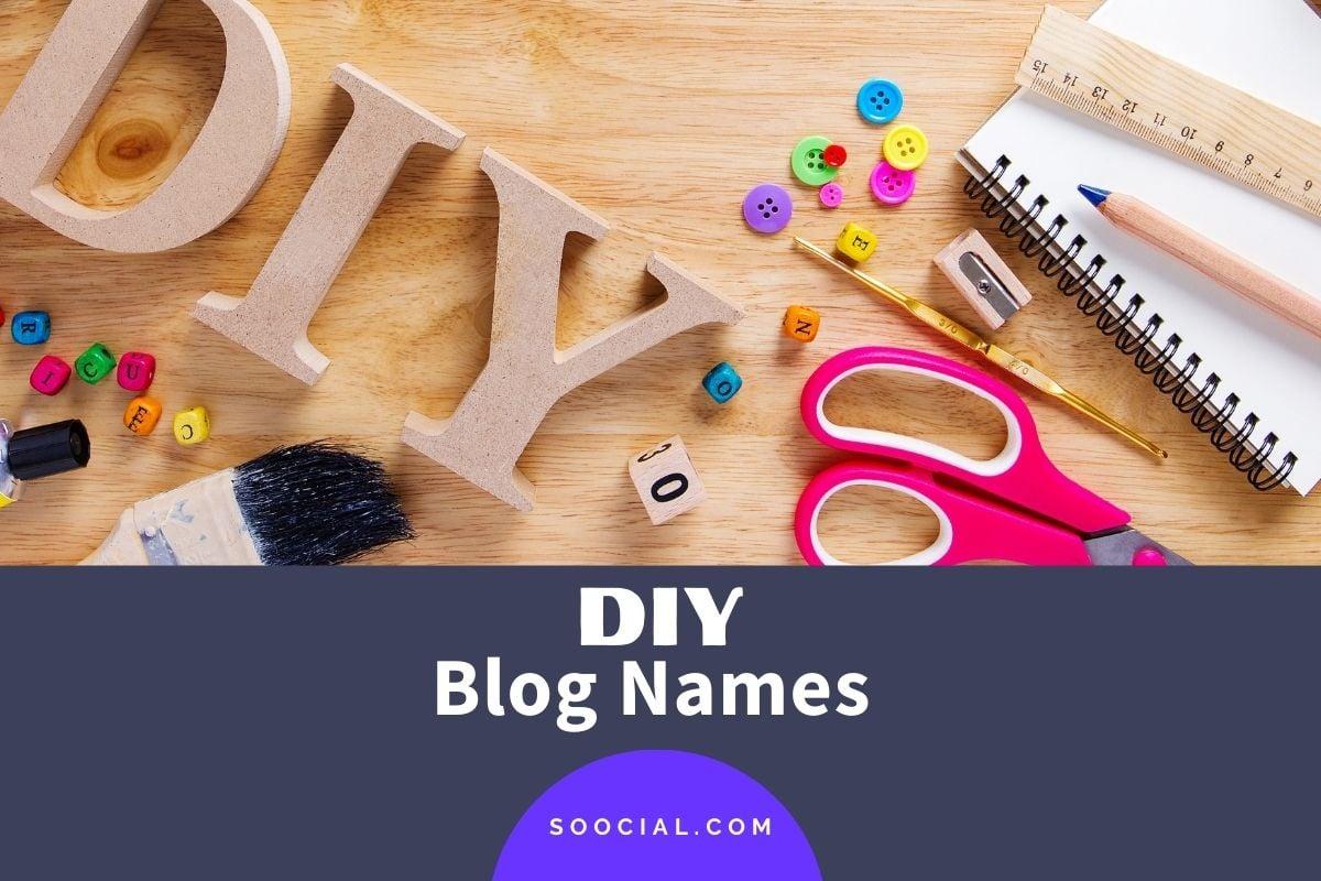 DIY Blog Names