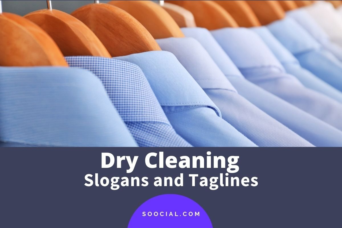 Dry Cleaning Slogans and Taglines