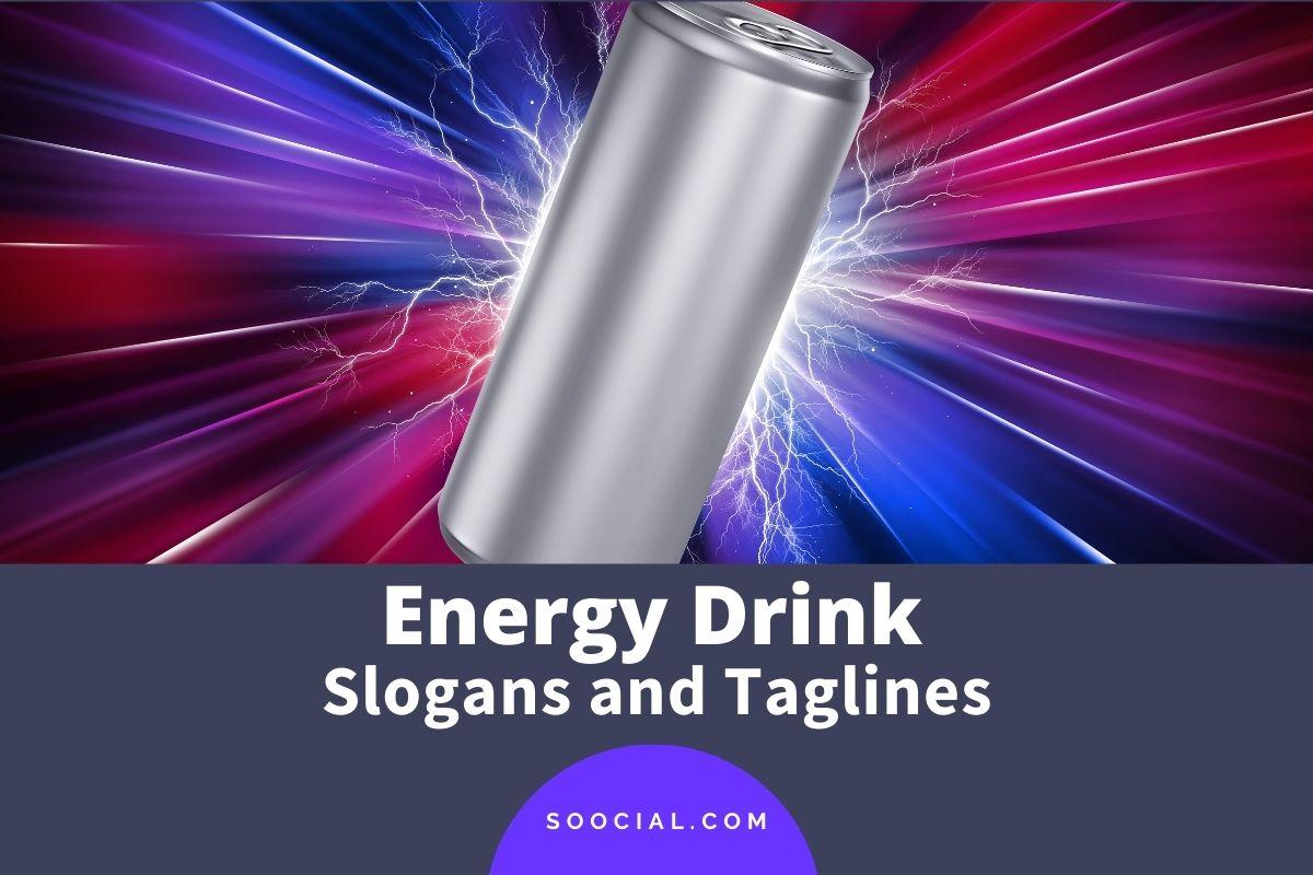 Energy Drink Slogans