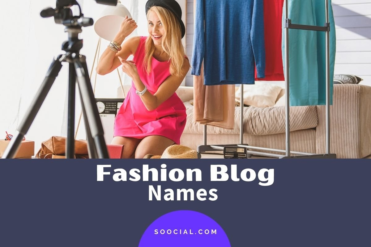 Fashion Blog Names