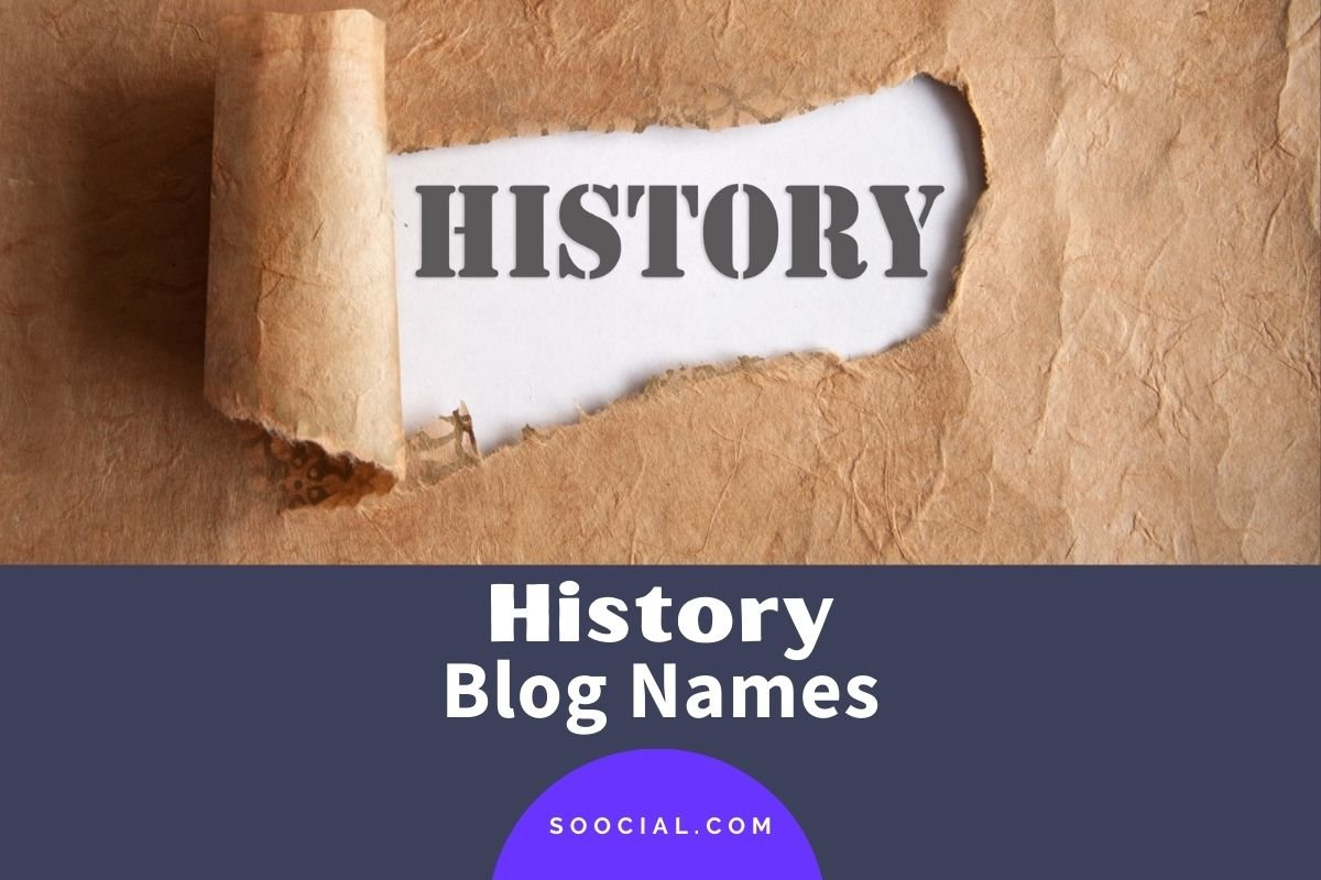 History Blog Names