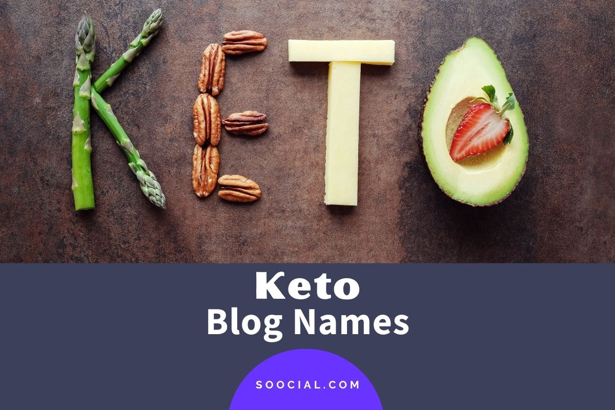 Keto Blog Names