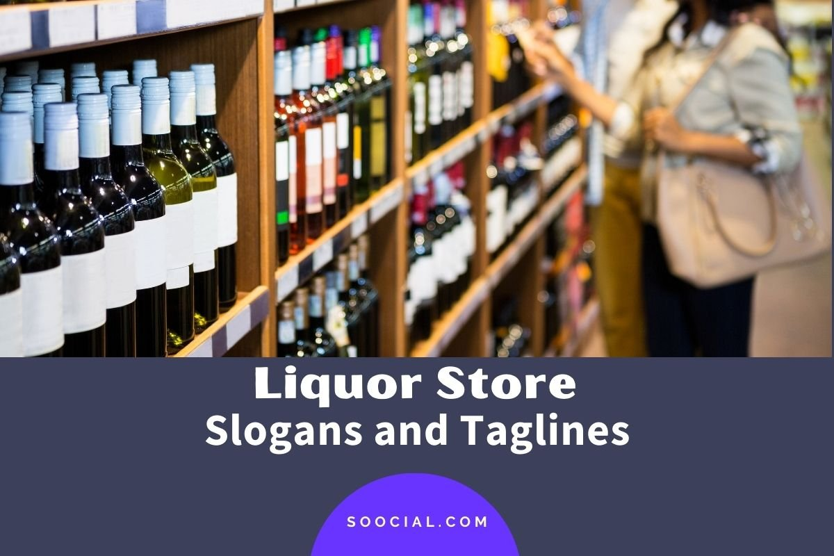 Liquor Store Slogans and Taglines