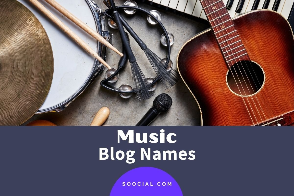 Music Blog Names