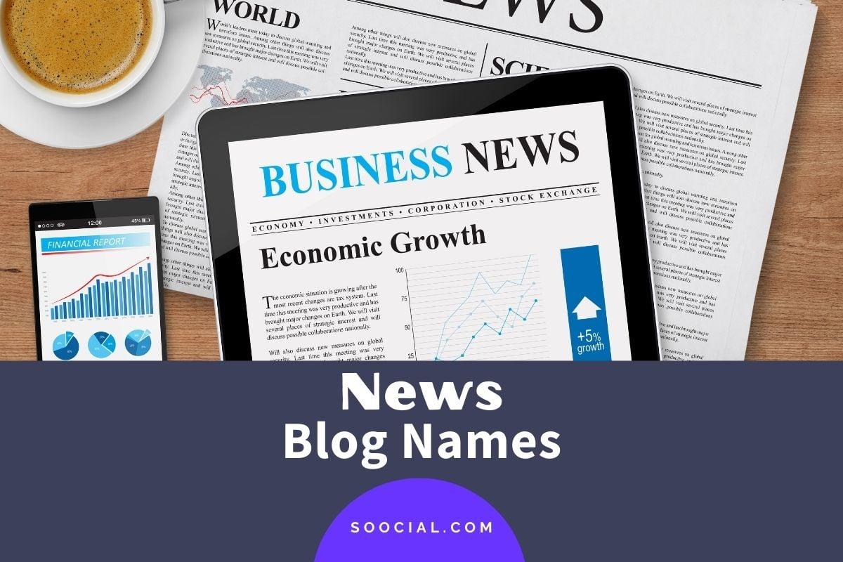News Blog Names