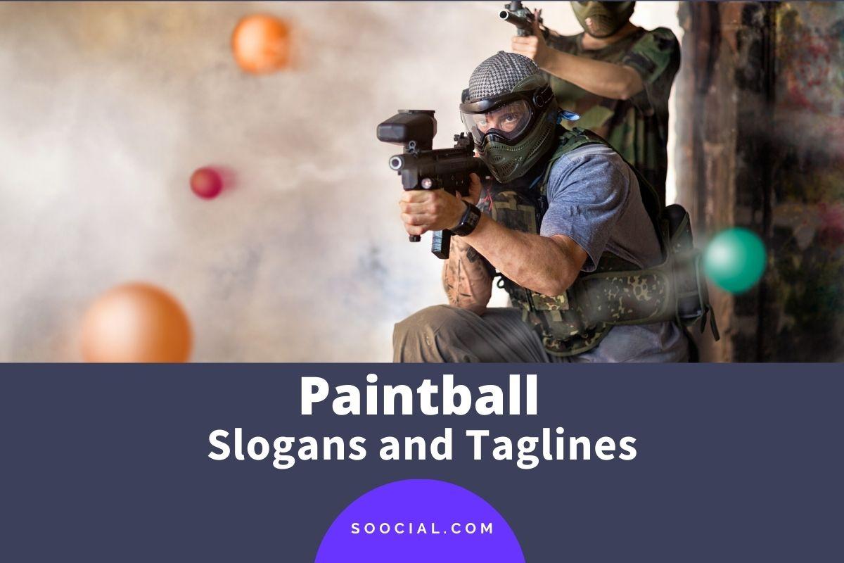 Paintball Slogans