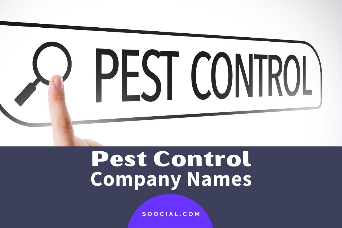 Pest Control Company Names