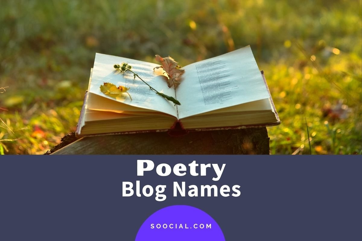 Poetry Blog Names