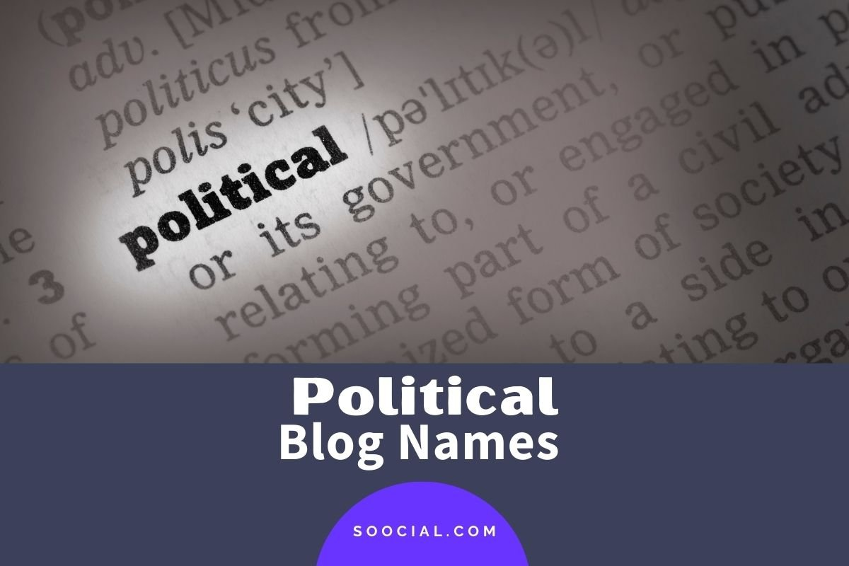 Political Blog Names