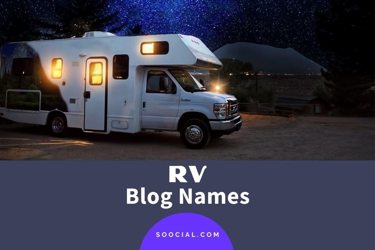RV Blog Names