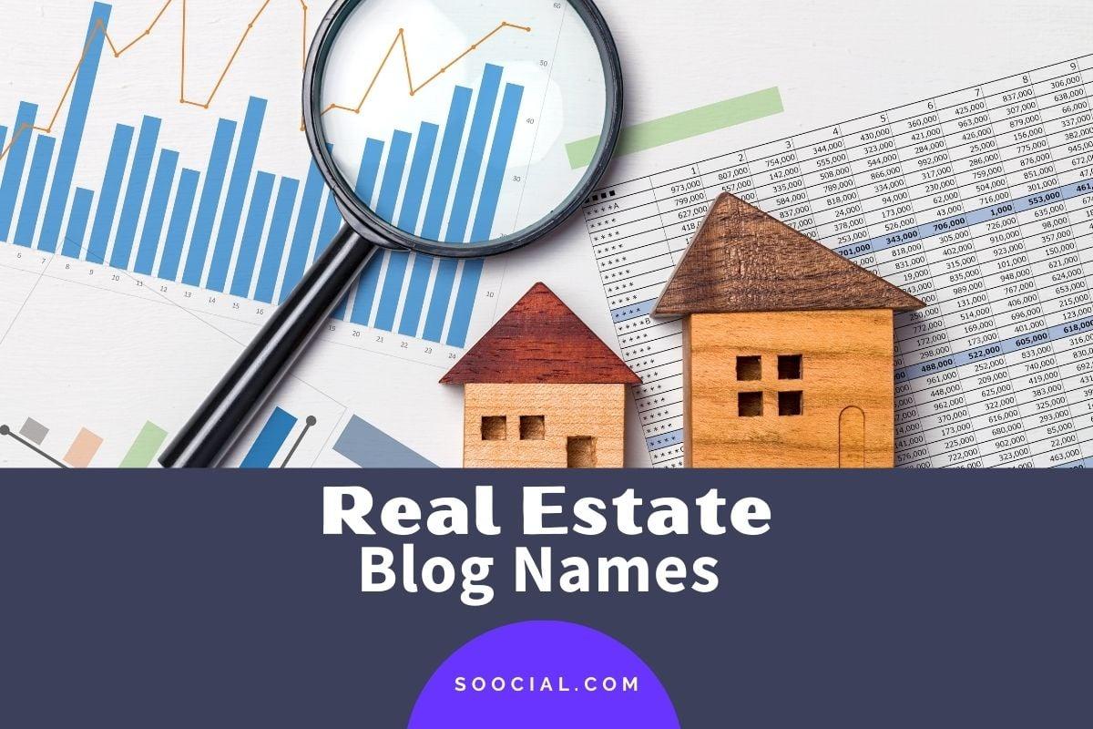 Real Estate Blog Names