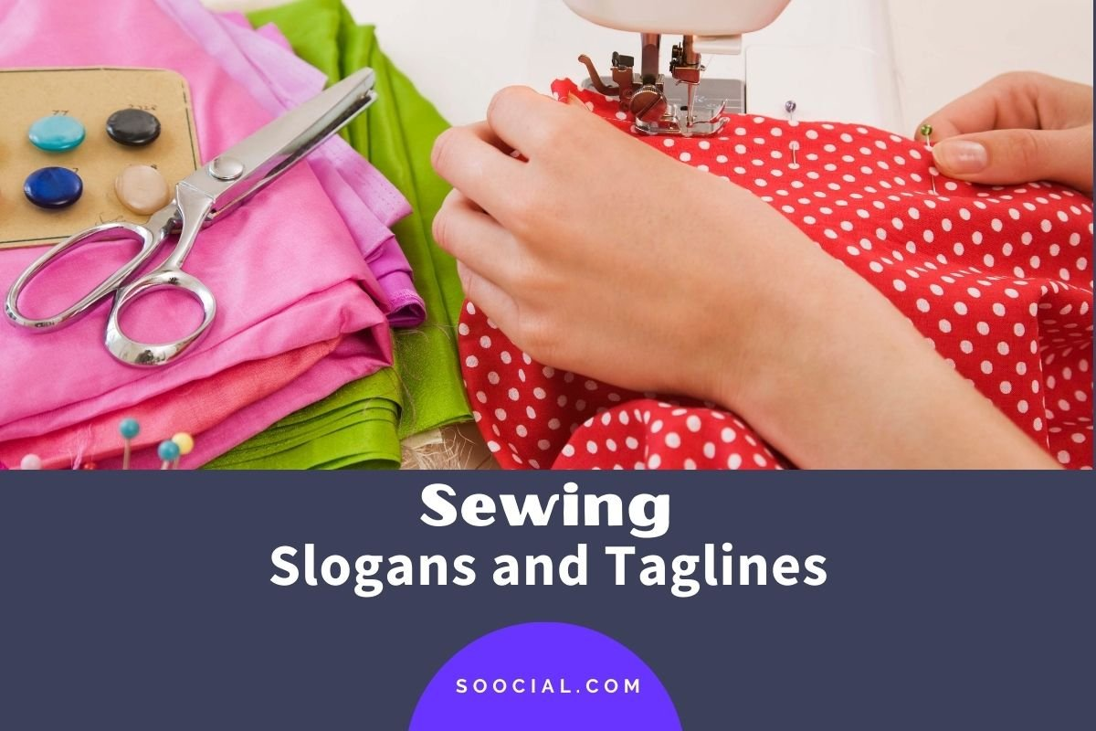 Sewing Slogans and Taglines