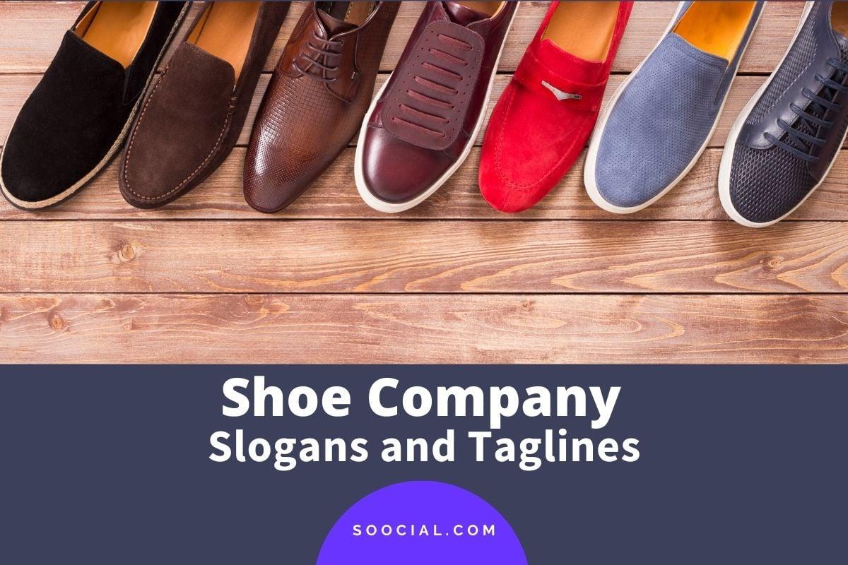 Shoe Slogans
