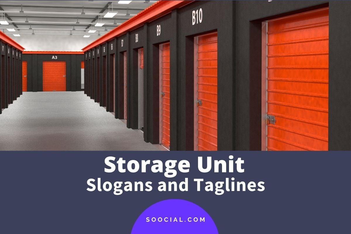 Storage Unit Slogans