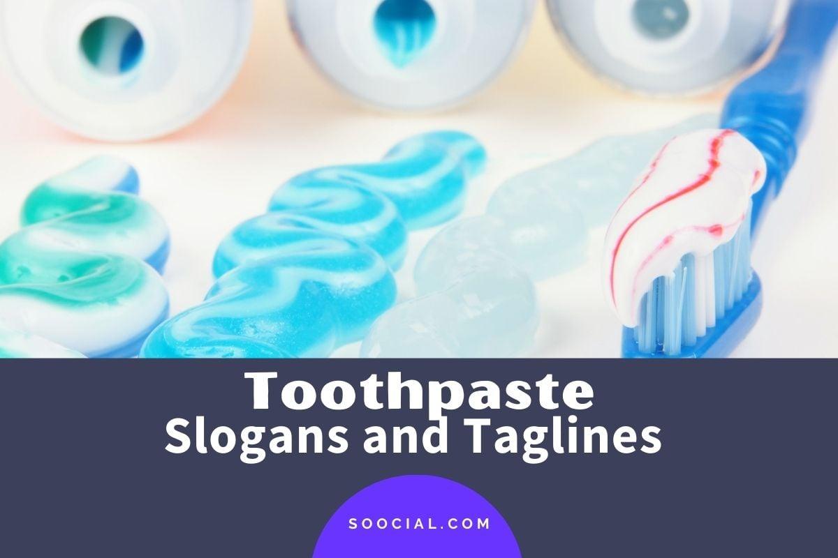 Toothpaste Slogans