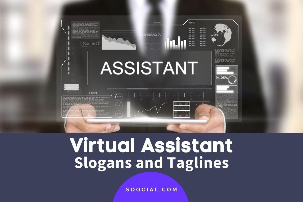 Virtual Assistant Slogans